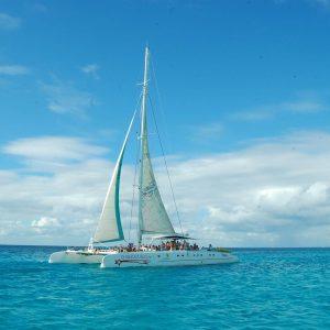 Excursión Isla Saona punta cana Catamaran