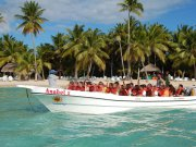 excursion isla saona lancha rapida