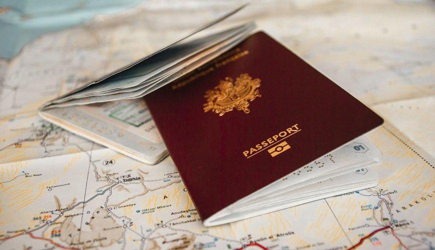 Pasaporte viaje